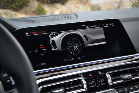 BMW X5 2019 pantalla central
