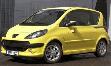 Peugeot 1007, precios
