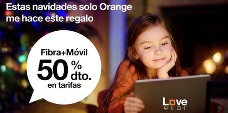 Promoción de Navidad de Orange