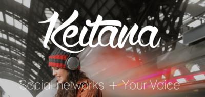 Keitana, la conexión a Facebook y Twitter para los invidentes