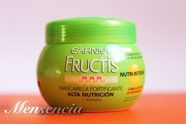 Hemos probado la mascarilla Fructis Nutri-intense