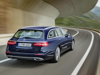 Mercedes-Benz Clase E Estate: un familiar con mucho espacio y tecnología