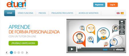 Etueri: la plataforma que facilita clases de repaso o refuerzo escolar desde casa