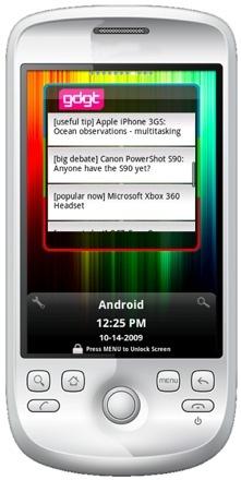FlyScreen está disponible también para Android