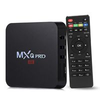 Oferta Flash: TV Box con Android Nougat MXQ Pro por 18,99 euros y envío gratis