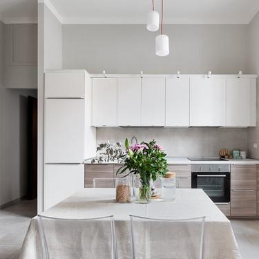 38 m2 son suficientes para tener un apartamento completo como demuestra este apartamento del centro de Milán