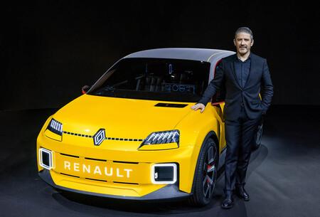 """Renault 5 eléctrico: """"El 95 % de lo que vemos aquí estará en el coche de serie"""". Gilles Vidal, director de diseño"""