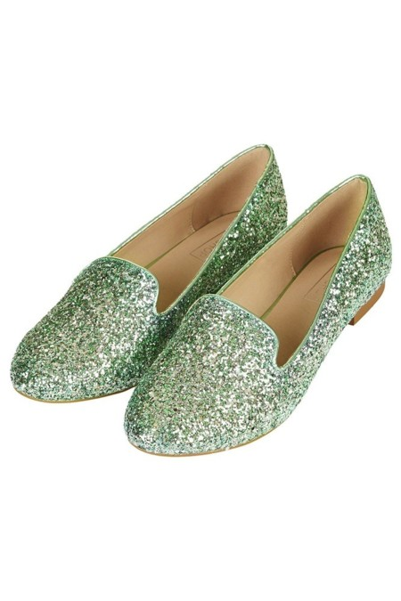 Slippers Glitter Topshop