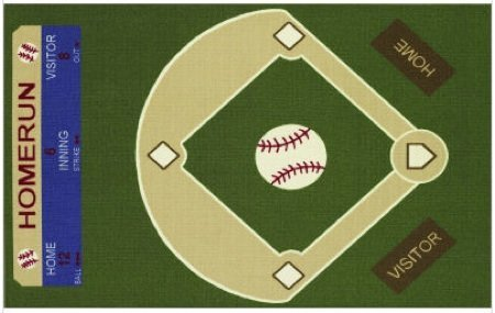 alfombra baseball
