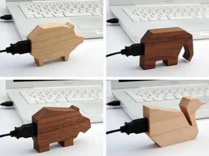 Memorias USB de Madera (2)