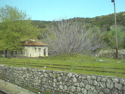 Viajar en tren por el interior de Grecia