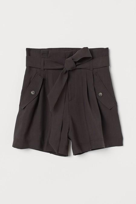 Pantalones Cortos Paperbag