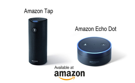 Amazon Tap y Echo Dot, estos son los nuevos dispositivos de Amazon equipados con Alexa