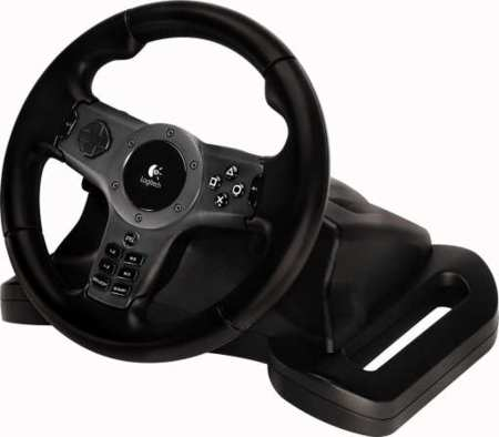 Volante Logitech Driving Force Wireless para PS3