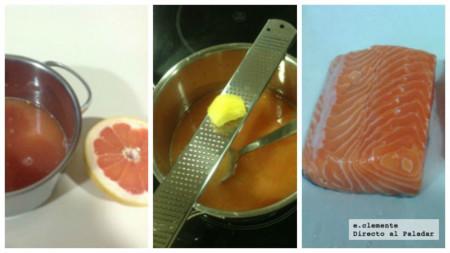 Salmon Horno Citricos Coll