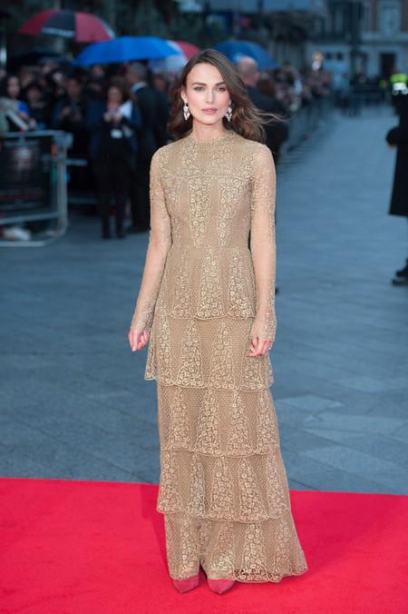 Keira Knightley Valentino Alta Costura vestido