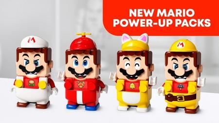LEGO Super Mario: la figura del fontanero también se podrá transformar con estos cuatro atuendos diferentes