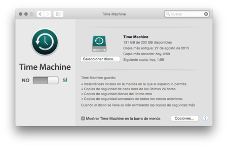 Ejemplo Time Machine Xtk