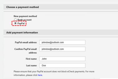 Microsoft Ads ahora permite a los desarrolladores cobrar sus ganancias por Paypal