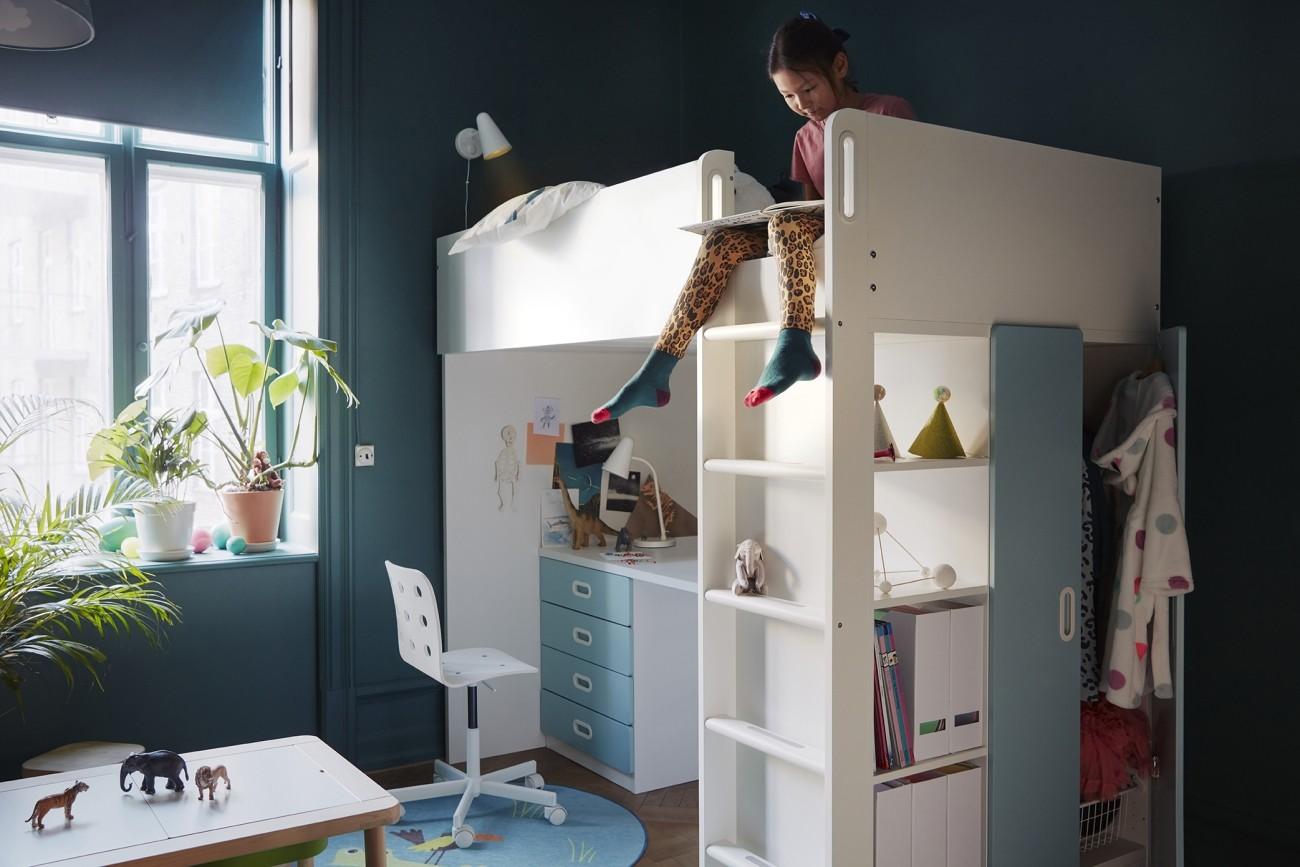 97c20ff2b Como locos con el nuevo catálogo IKEA 2019: Espacios infantiles a todo  color con mobiliarios prácticos y atrevidos
