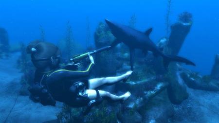 ¿Puede Lara Croft vencer a un tiburón a puñetazos? Sí, en 'Tomb Raider: Underworld'