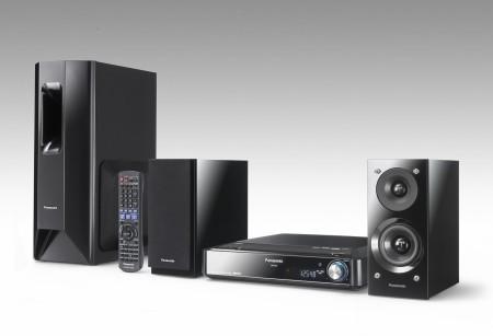 [IFA 2007] Sistema de Cine en Casa SC-PTX5 de Panasonic, 2 altavoces para sonido 5.1.