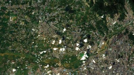 Este satélite tiene permiso para vender imágenes que incluso pueden identificar un coche