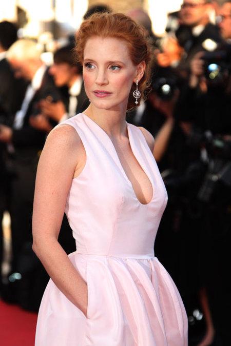 Jessica Chastain Festival de Cannes 2012