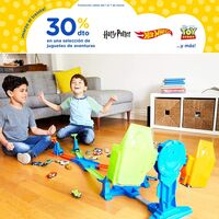 30% de descuento en juguetes Hot Wheels, Harry Potter o Toy Story por tiempo limitado en Toys 'r us