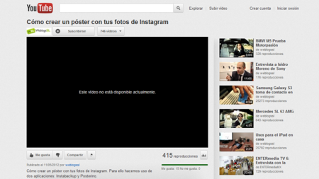 Video no disponible.