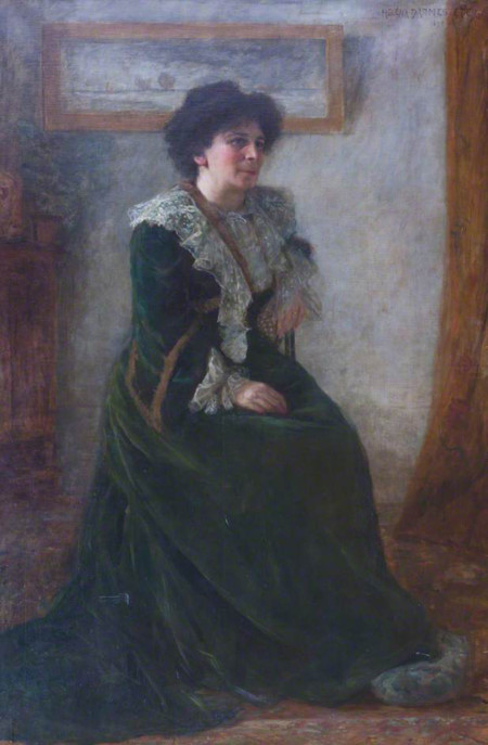Helena Arsene Darmesteter Portrait Of Hertha Ayrton
