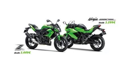 Oferta Kawasaki Ninja 250 SL y Kawasaki Z 250 SL
