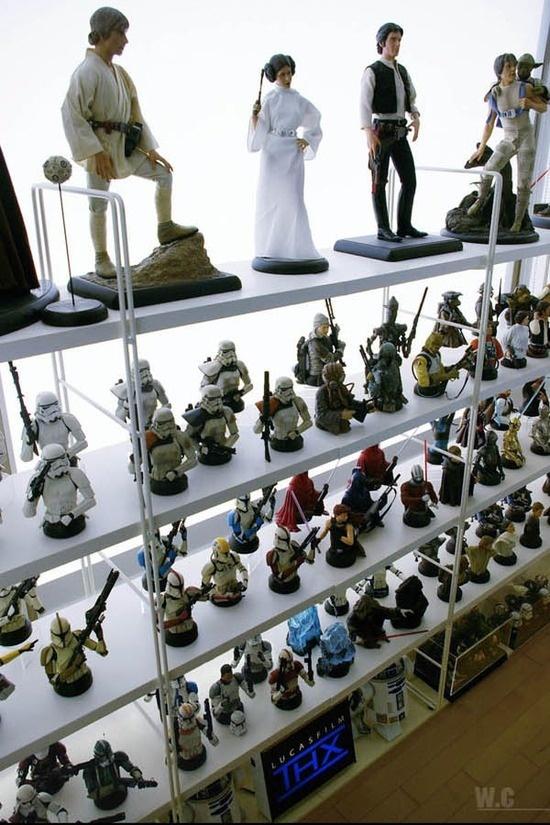 Foto de La casa de un fan de Star Wars con gusto (4/14)
