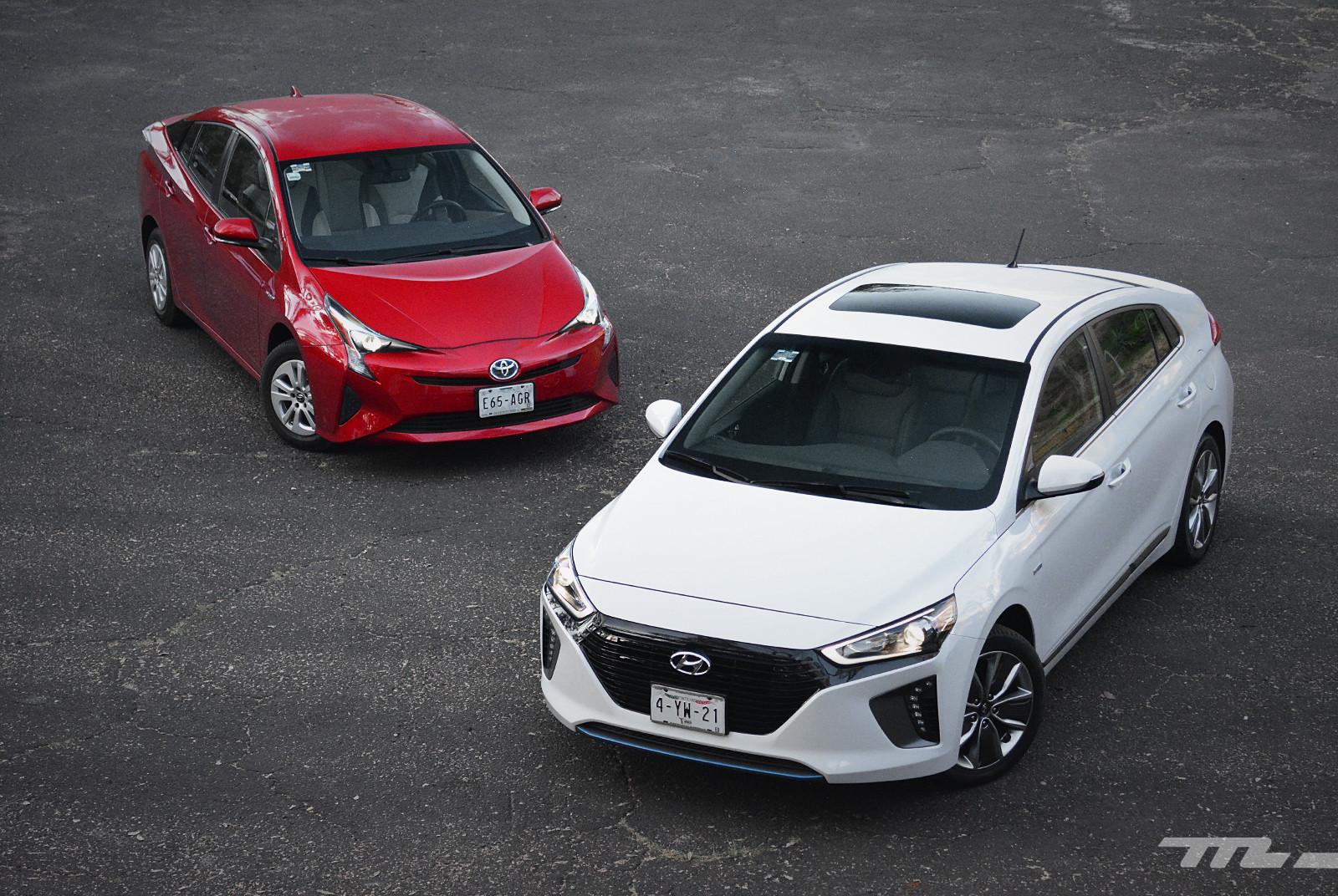 Foto de Hyundai Ioniq vs. Toyota Prius (9/22)