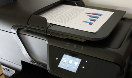 ADF HP Officejet Pro 8600