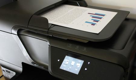 ADF HP Officejet Pro 8600