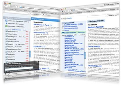 Tema Mac para Google reader