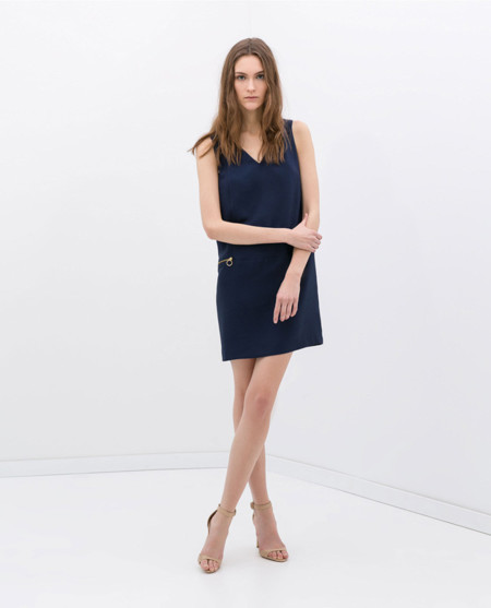 Zara cremalleras vestidos primavera 2014