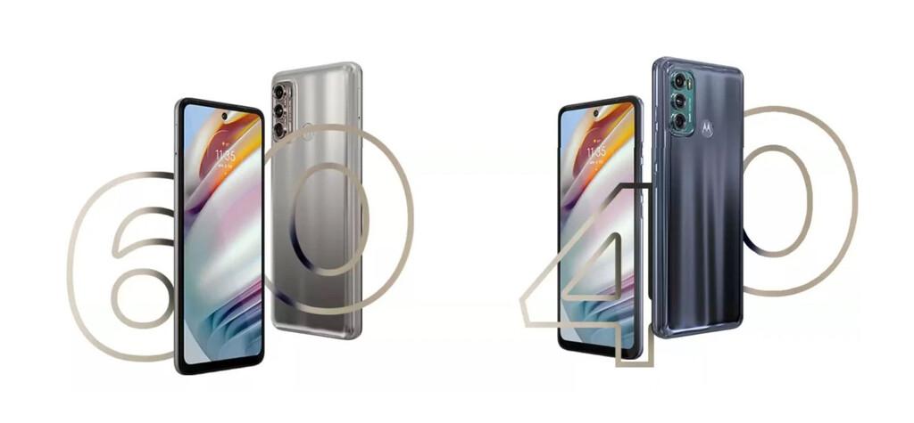 Los Moto™ G40 Fusion y Moto™ G60 se filtran anteriormente de su lanzamiento el veinte de abril