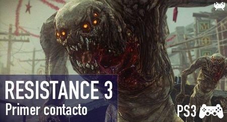 'Resistance 3'. Primer contacto