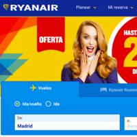 Ryanair oferta más de 500.000 asientos con un 20% de descuento, hasta mañana 22 de mayo.