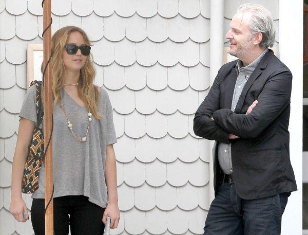 Jennifer Lawrence y Francis Lawrence