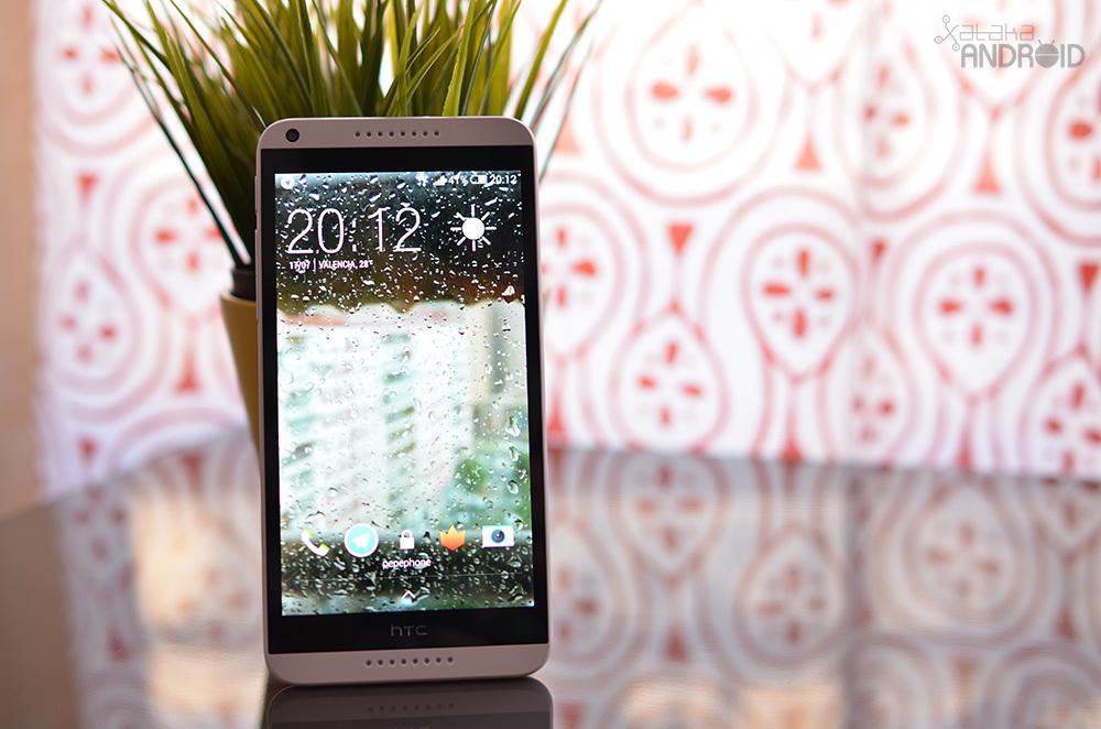 HTC Desire 816, diseño