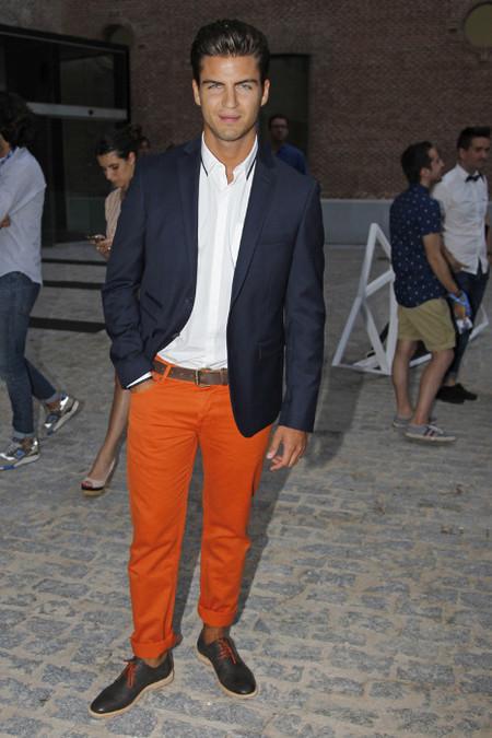 Maxi Iglesias smart casual