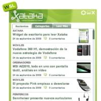 Widget de escritorio para leer Xataka