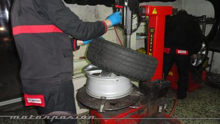 Pirelli Winter Sottozero II, montaje