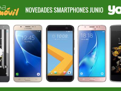 Precios HTC 10, Samsung Galaxy J7, Galaxy J5, LG K8 y Alcatel Pop 4 con Yoigo en junio