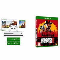 Consola Microsoft Xbox One S de 1TB + Forza Horizon 4 + Red Dead Redemption 2 por sólo 249 euros