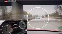 Persiguiendo al BMW i8 por Autobahn con un Audi S3 a más de 200 km/h