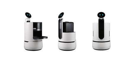 LG presentó su nueva línea de robots inteligentes para el hogar y empresas
